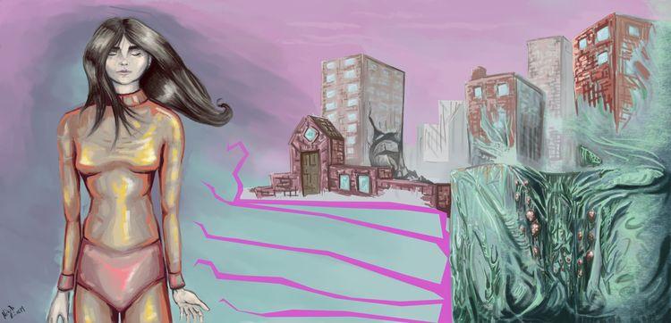 Sugar Sam - comicart, comics, illustration - nikita_r   ello