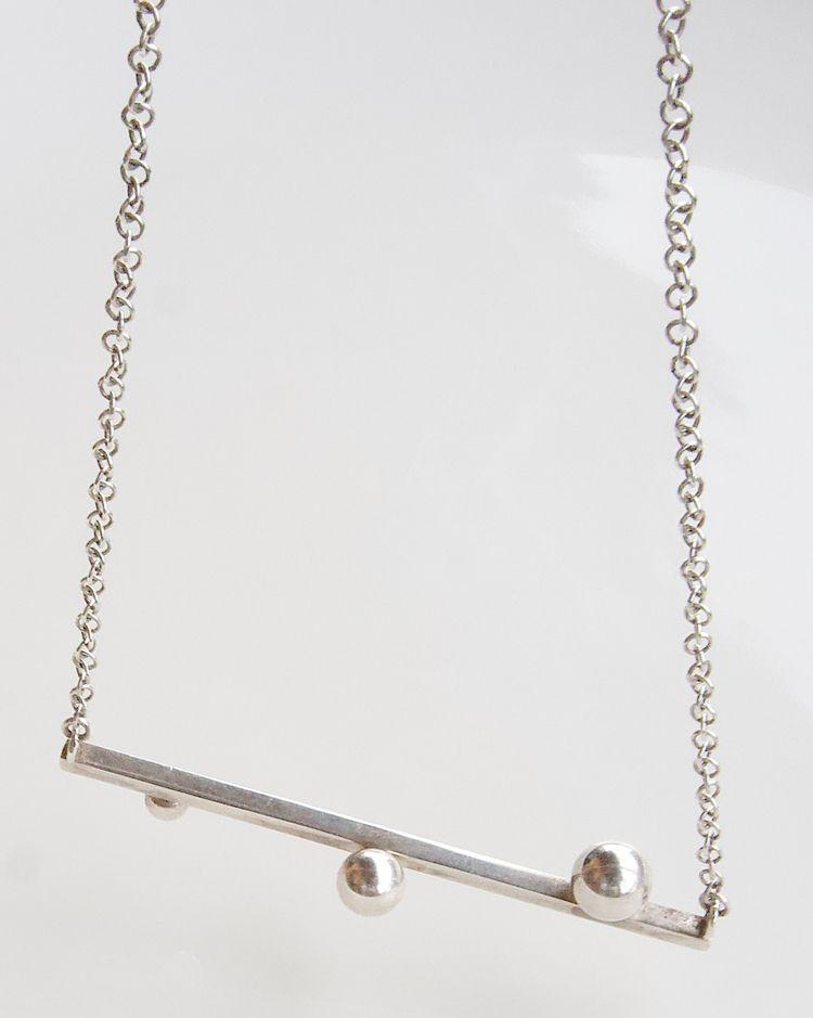 Silver lining - mira, necklace, silver - paulina_oja | ello