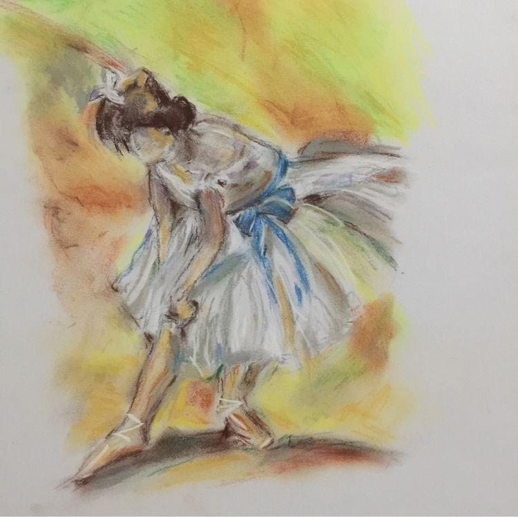 Ballerina - tribute Degas. Past - caroh | ello