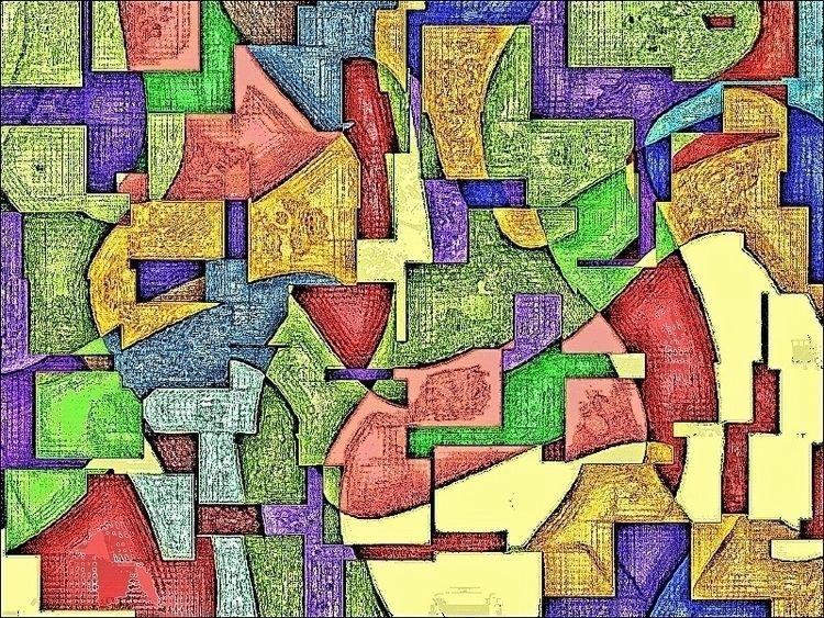 Tapestry Travesty - abstractart - zenwit | ello