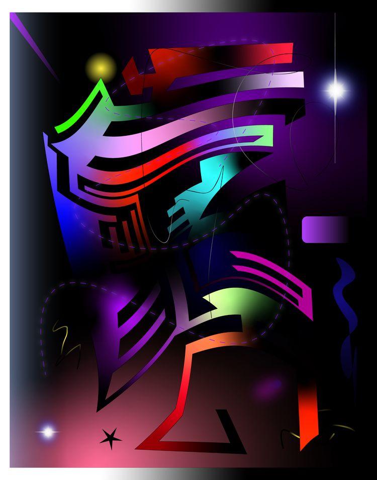 search - illustrator, abstract, digital - escapescapes   ello