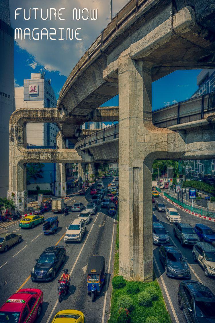 future - traffic, supernatural, Bangkok - christofkessemeier | ello