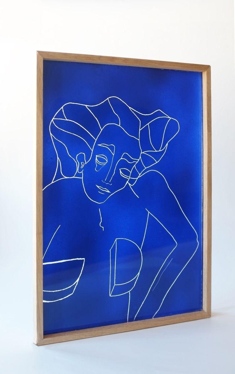 Pierrette squared! Acryl paint  - doniajornod | ello