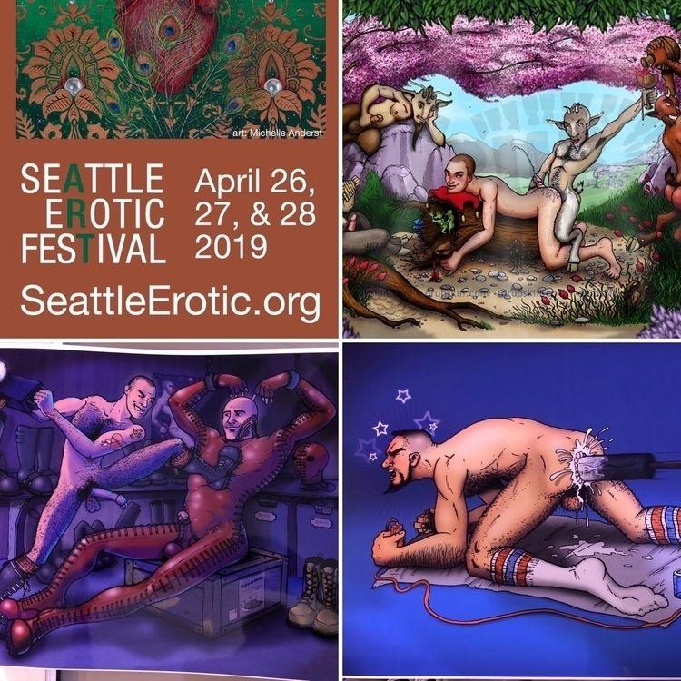 Invited - artist, SeattlEroticArtFestival! - drub | ello