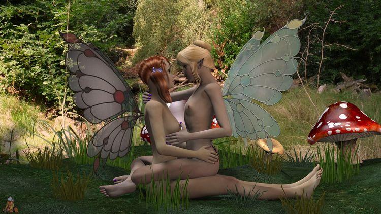 Lesbian Fairies 01 (01-02/02 - 3d - thor3d | ello