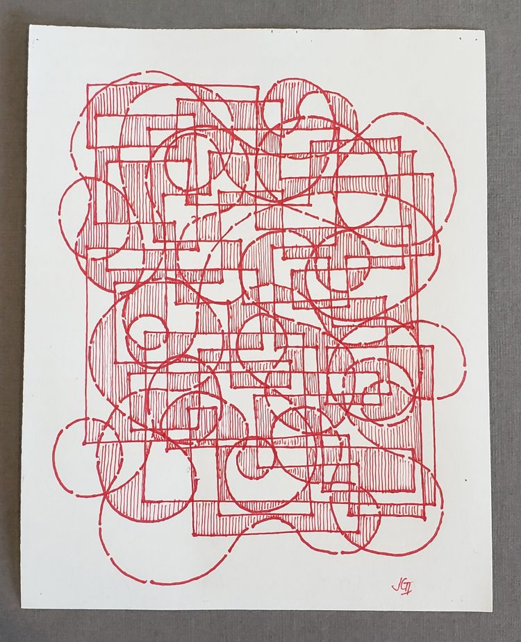 matplotlib Ink copy paper. 11x1 - jjkelly_art | ello