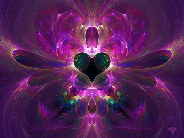 Dragonfly Valentine - fractal, valentine - sya | ello