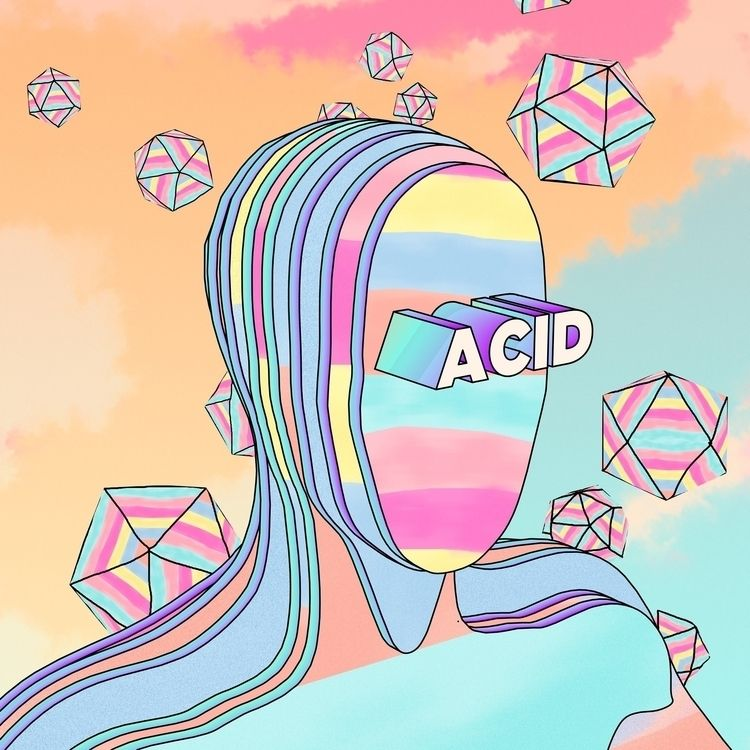 . ACID prints - Cinema4D, 3Dart - dreamonaut | ello