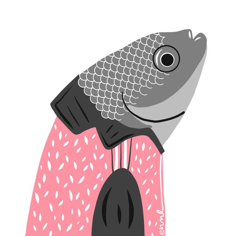 117 Hole pupfish. species fish  - emilynettie | ello