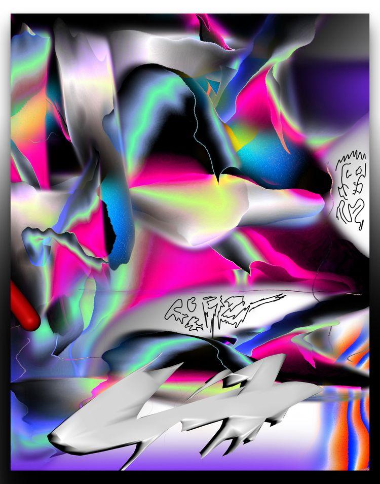 digital, abstract - escapescapes   ello