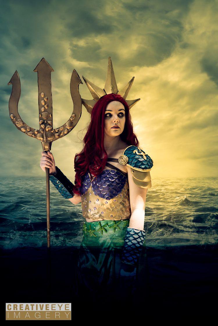 Warrior Queen Ariel requests at - creativeeyeimagery | ello
