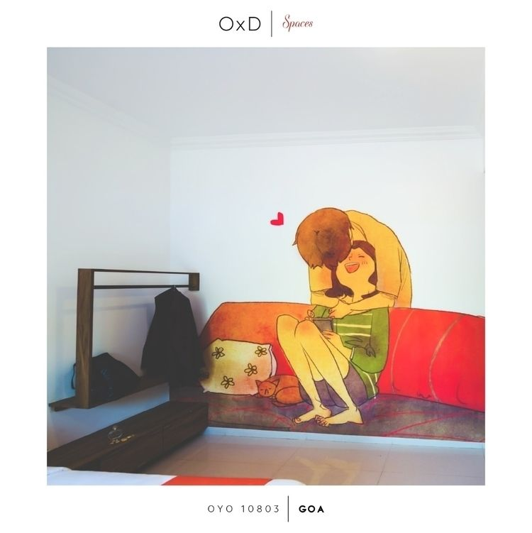 Day love air OYO home. kind wal - oyoxdesign | ello