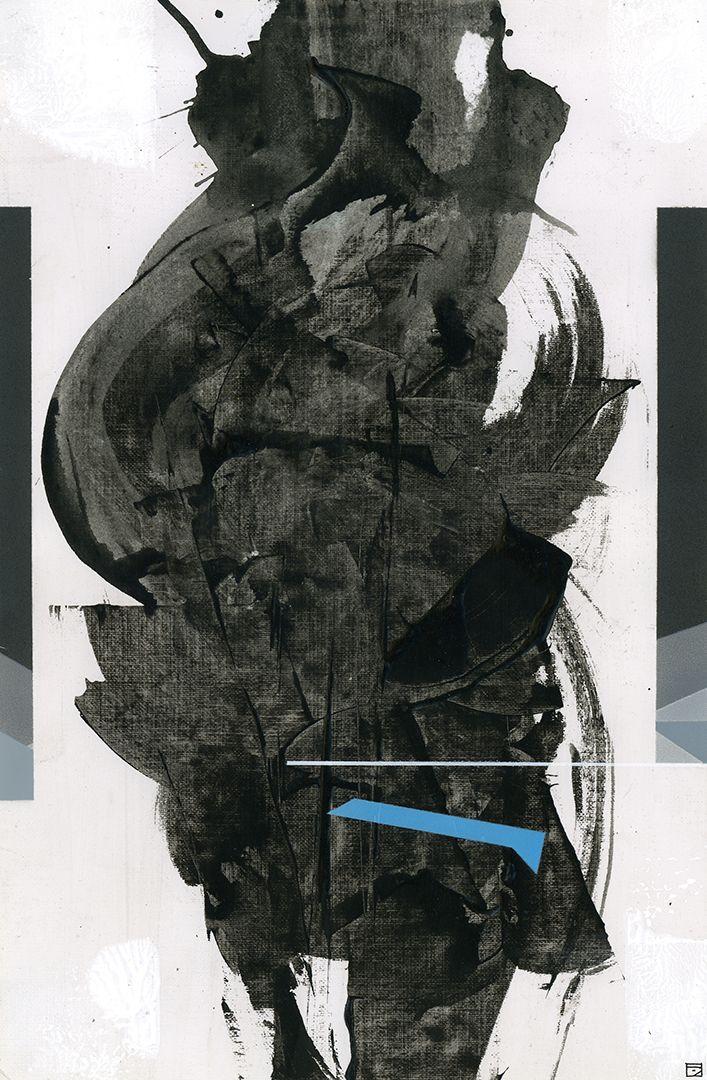 2 , 2018/2019 acrylic/paper 35 - edgarinvoker | ello