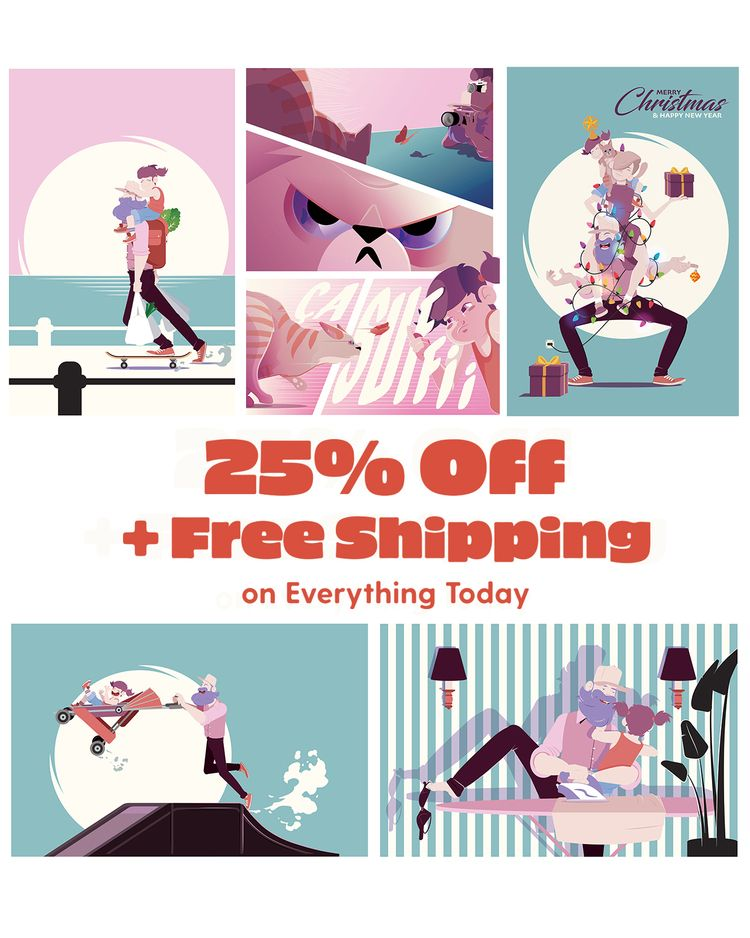 25% + FREE SHIPPING today - promo - aureliensoula | ello