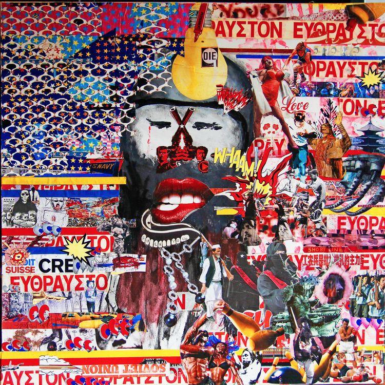(2012) pj pANcMA - collage, frames - pancma | ello
