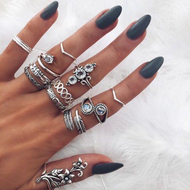 bohemian, jewelry, rings - elloboho | ello