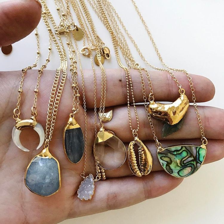 boho, jewelry, necklaces - elloboho | ello