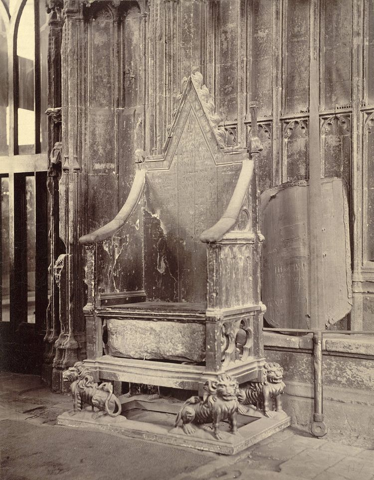 Coronation Chair Stone Scone, W - charles_3_1416 | ello