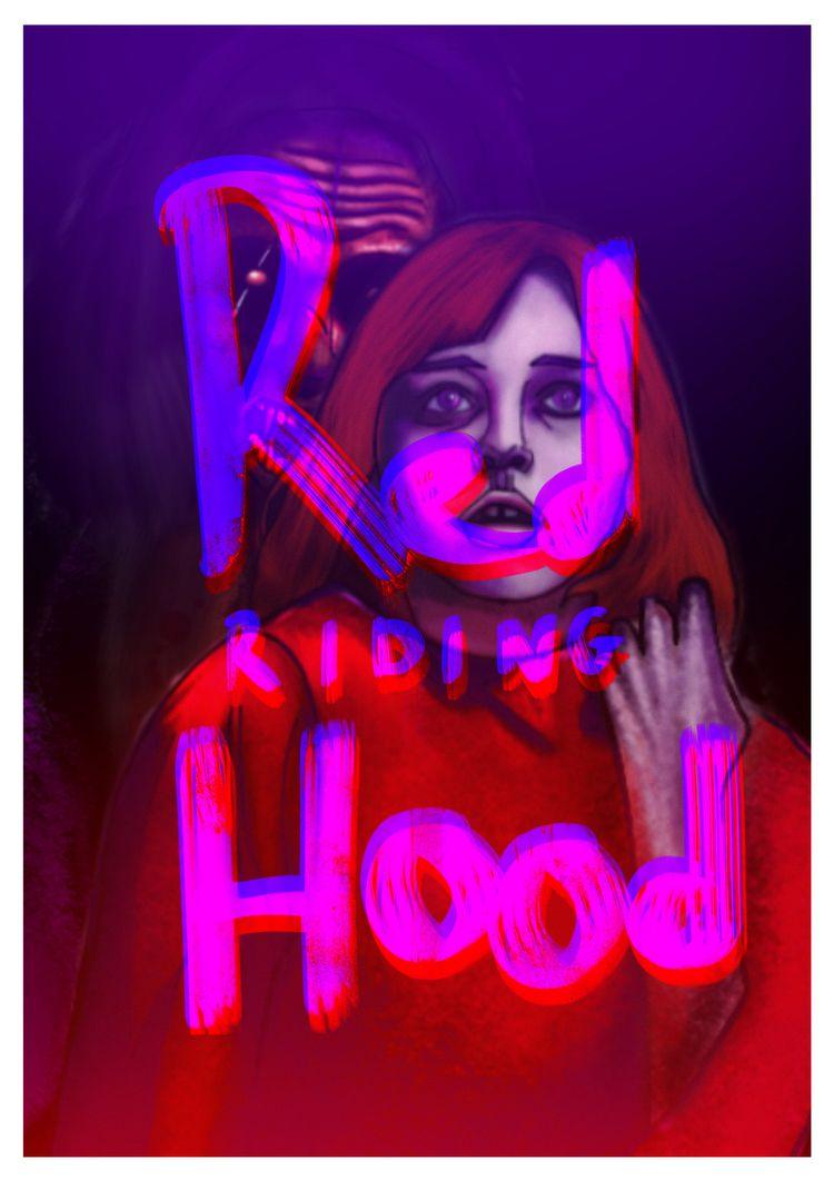 Red Riding Hood Horror Comic Co - verzin98   ello