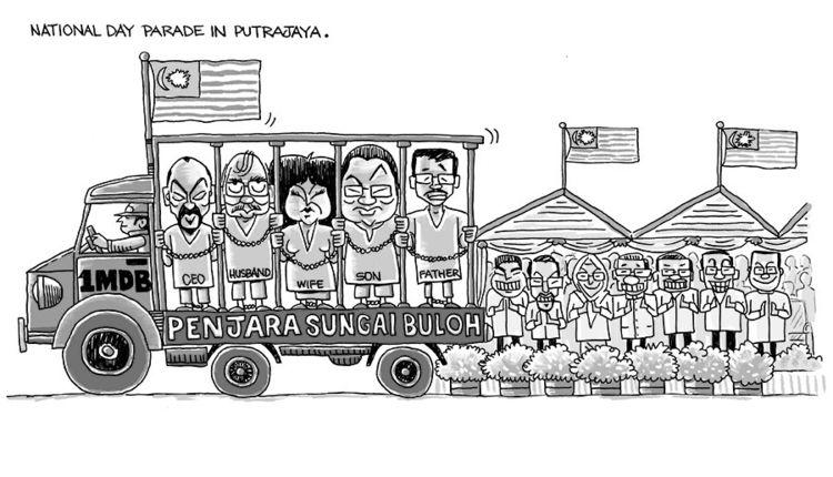 Malaysians  - art, cartoon, caricature - paulchoo   ello