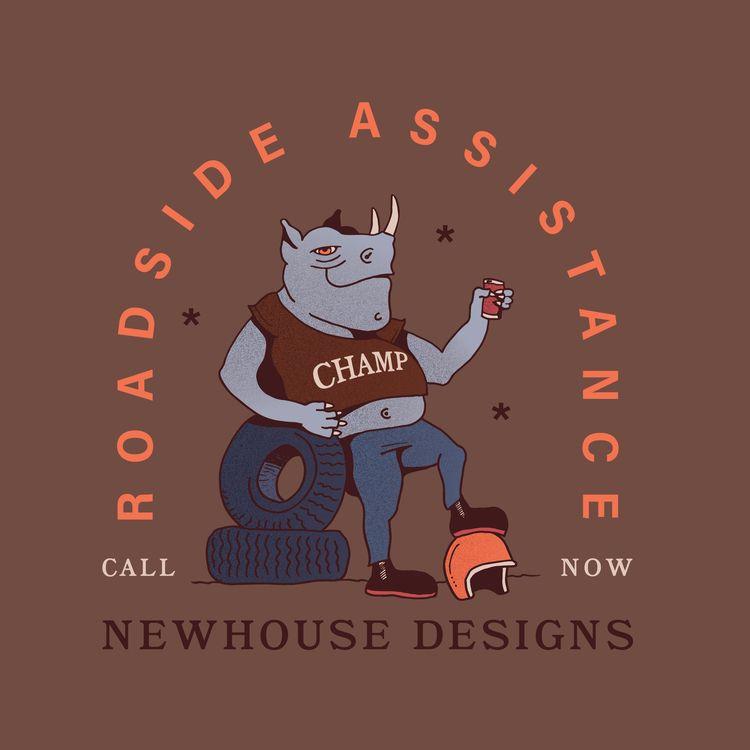 Roadside Assistance - rhino, motorcycle - jessienewhouse | ello