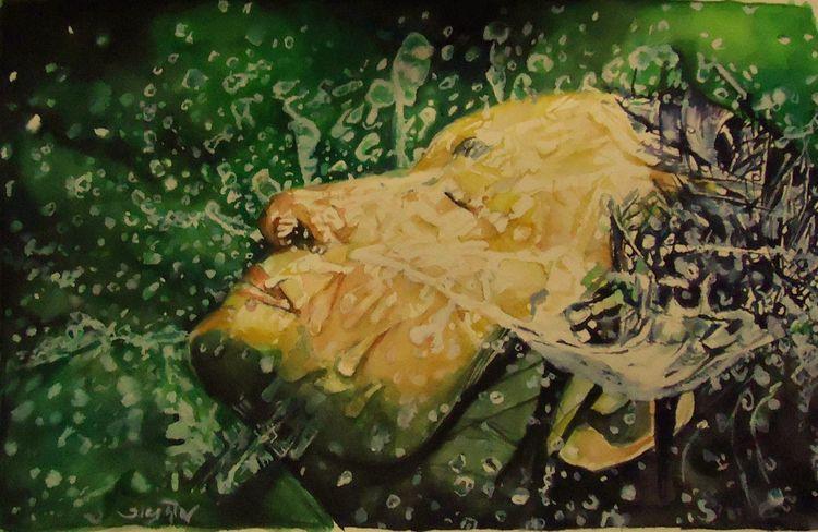 Attractive watercolor painting  - katiejones1   ello