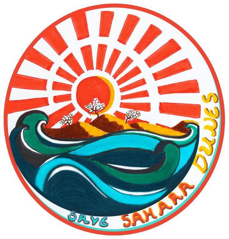 Save Sahara Dunes Illustration  - design_studio_33 | ello