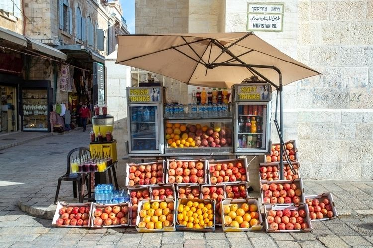 Kiosk; Jerusalem City Project C - souff | ello