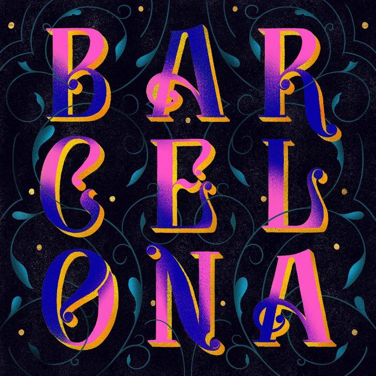 BARCELONA | created custom lett - leahdesign | ello