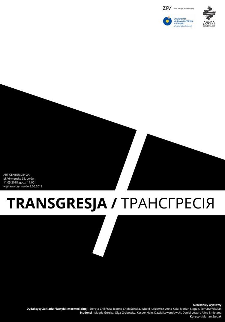 TRANSGRESSION Exhibition link - Poster - teddydd | ello