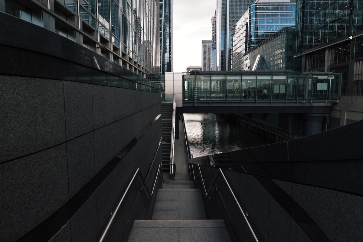 Canary Wharf - architecture, london - domreess   ello