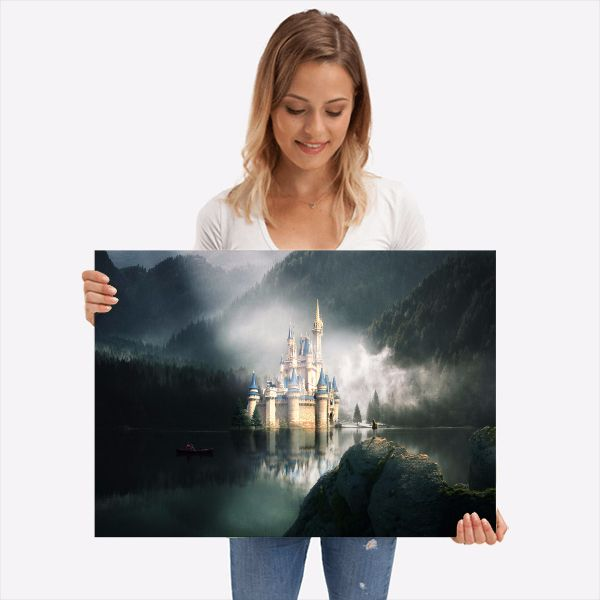 Buy amazing castle landscape pi - visualsofmh | ello
