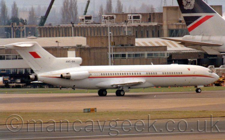 A9C-BA, Boeing 727-2M7, Bahrain - mancavgeek | ello