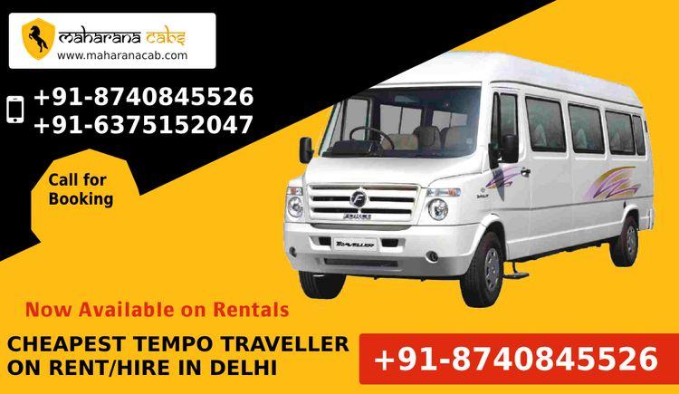 Book Reliable Safe Tempo Travel - maharanacab   ello