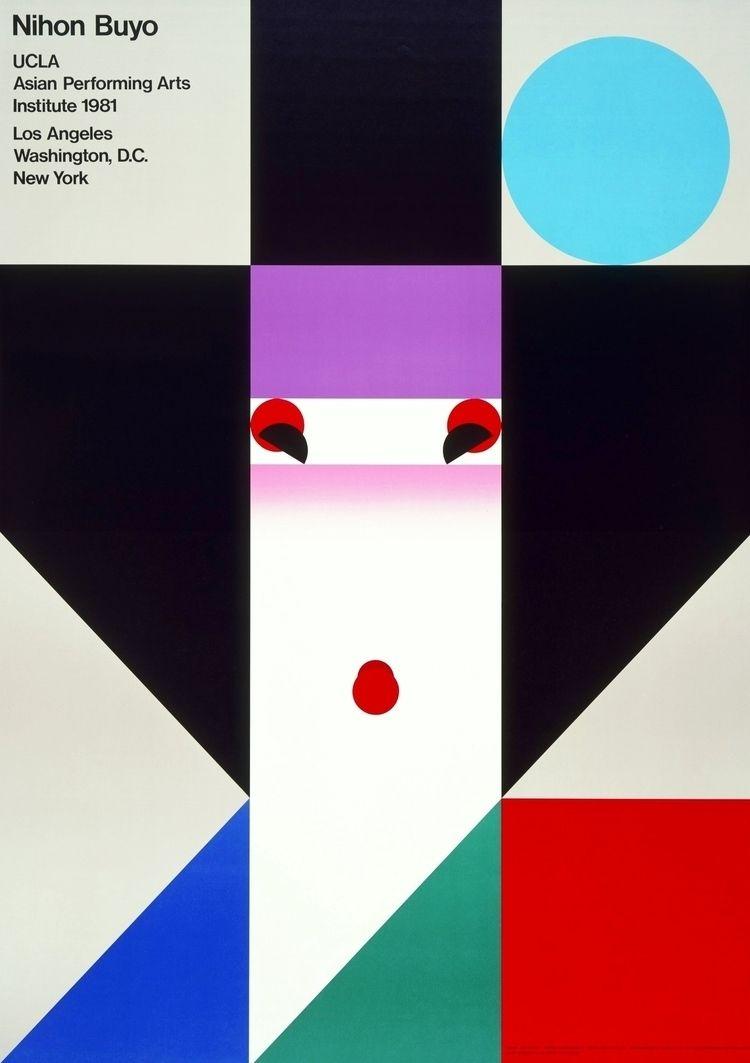 Ikko Tanaka, Nihon Buyo poster - romporn | ello
