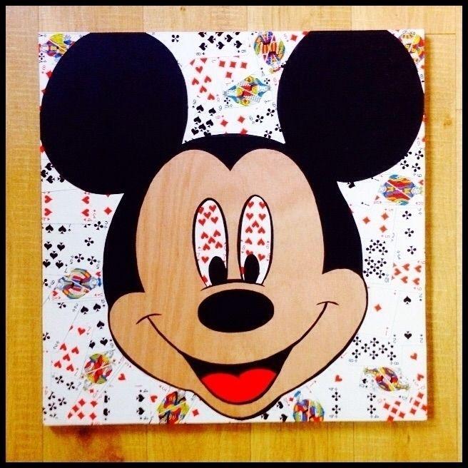Mouse Cards - commission - stencil - kriebel | ello