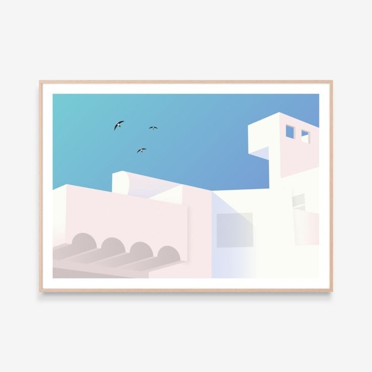 limited edition giclée print. h - futurefabric | ello