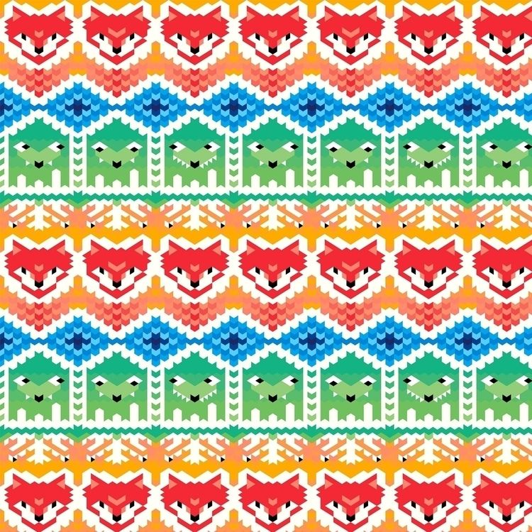 Fabric pattern traditional styl - piakolle | ello