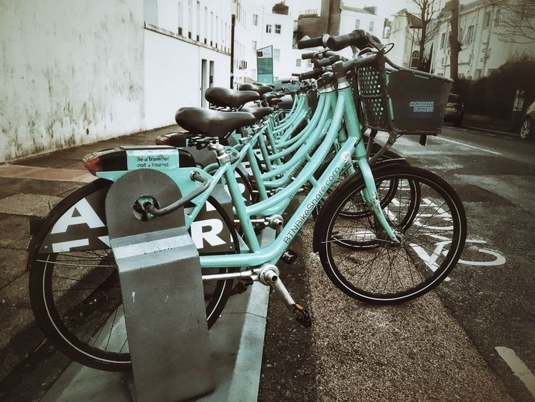 Brighton Bike Share Rack - Photography - andybroomfield | ello