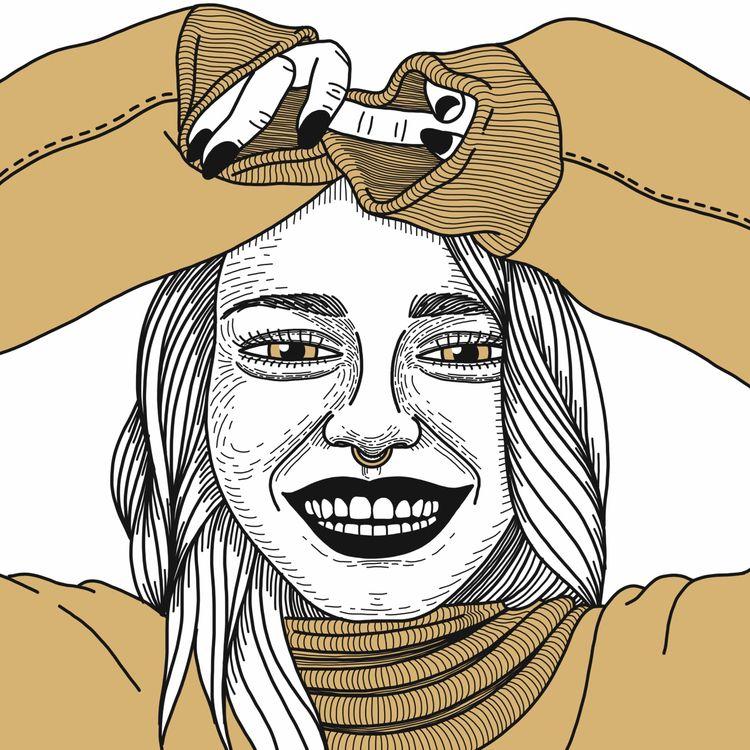 portrait, woman, girl, smile - alicecquaglia | ello