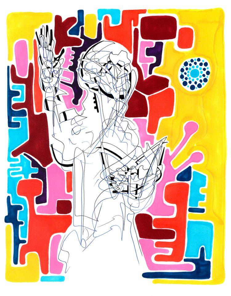 Lecture - Ink Watercolour paper - robert_bentley | ello