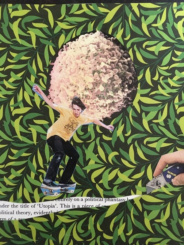 march 2019 skate theory - collageart - theoretical-mutant-4734 | ello