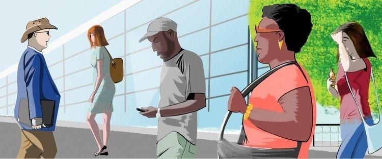 Diagonal city - illustration, ilustracion - martinillustrates | ello