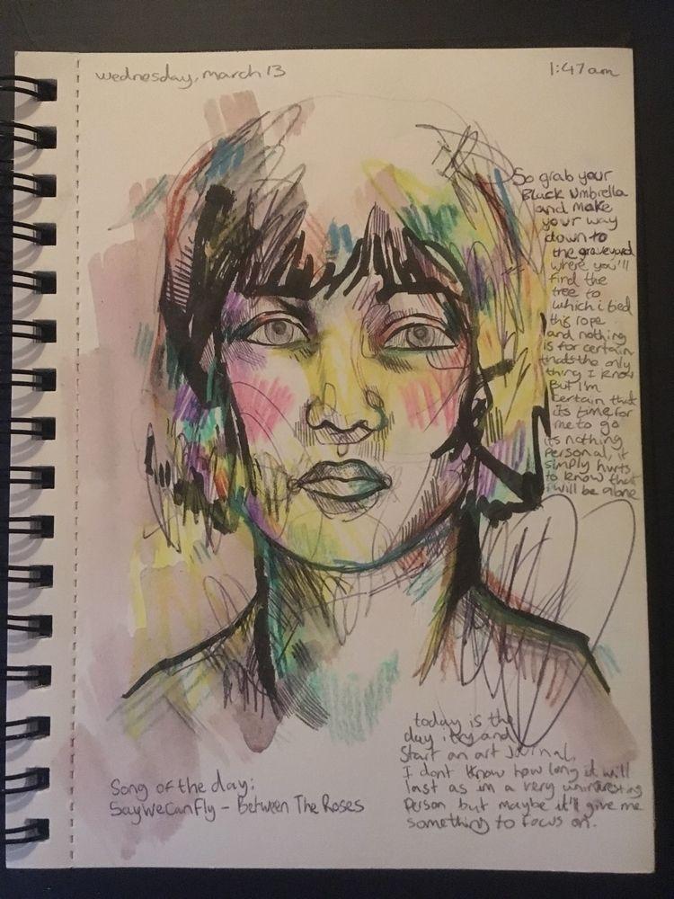 making art journal - artjournal - jordansummers | ello