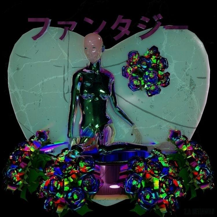 goddess fantasy - 3dart, rendering - zasetiawan | ello