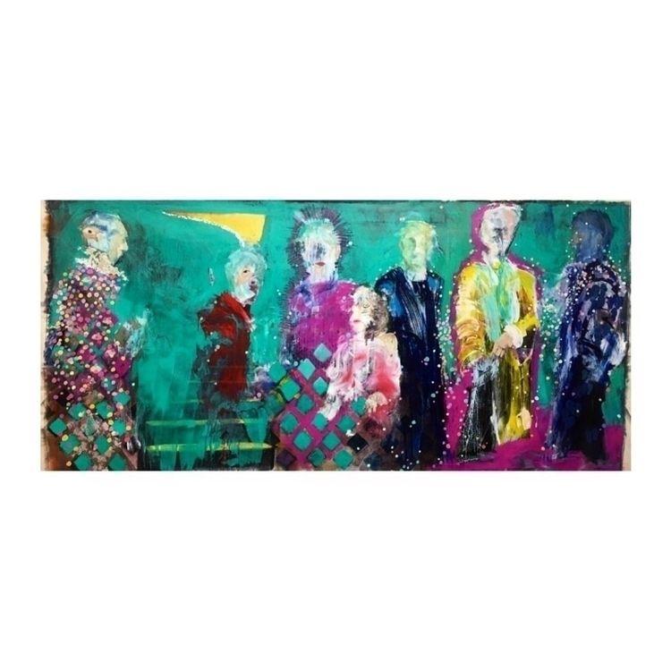 painting, art, acrylic, paint - yuliavirko | ello