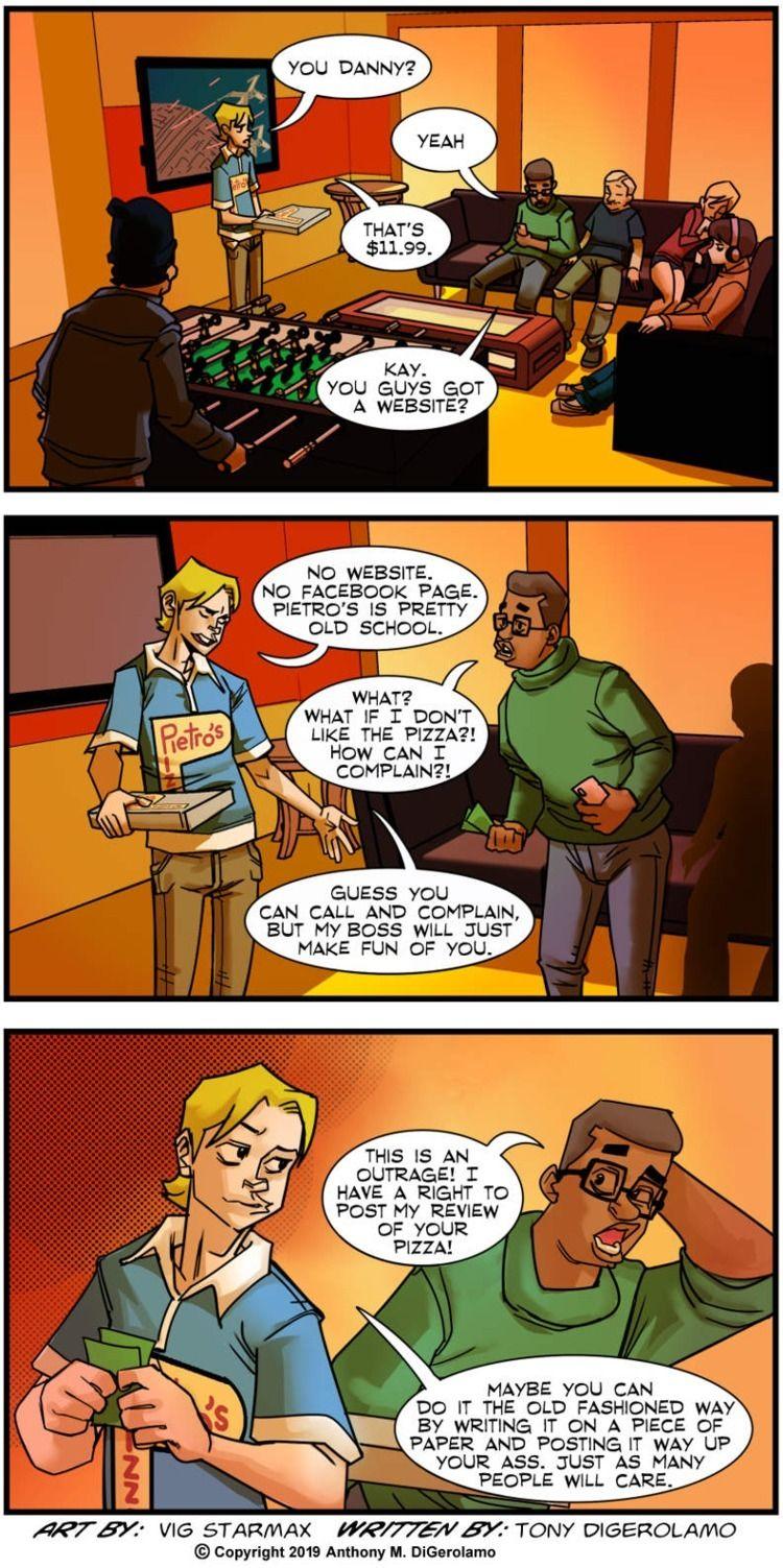 Tales Pizza: Complain - webcomic - tonydigerolamo | ello