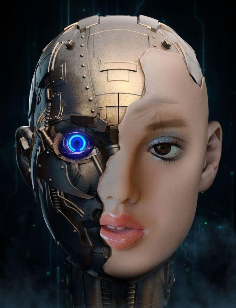 Super Hot Robots speak, flirt s - superhotdolls   ello