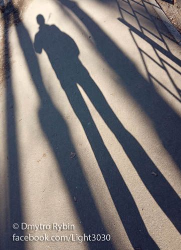 shadow man - Shadow, light, sun - dmytroua | ello
