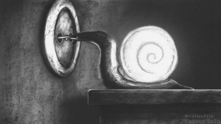 Eureka - snail, light, plugged, eureka - metafoorfilm | ello